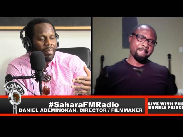Filmmaker Daniel Ademinokan Meets #HumblePrince