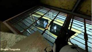 Portal 2 Easter egg Turrets opera in test chamber 16 HD