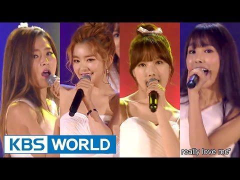 Irene & Seulgi & Yerin & Yuju - I Don't Know What Love Is Yet [2015 KBS Song Festival / 2016.01.23]