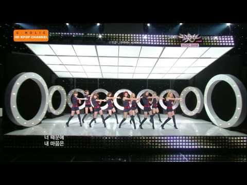 [hd] Snsd hoot Comeback Stage Live October 29, 2010  M.b G-holic™ video