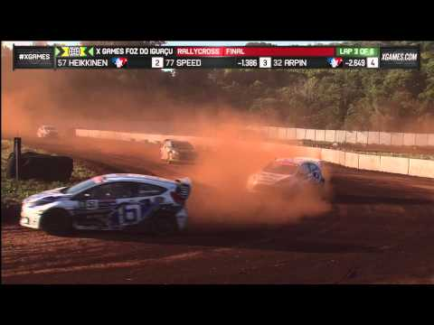 RallyCross Final at X Games Foz