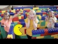 PAC MAN In A Giant LEGO MAZE!