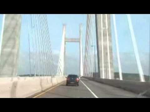 maior ponte fluvial do mundo (rio orinoco-venezuela)