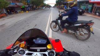 NTN - Tai Nạn Khi Đang Đi Xe Ducati Panigale 1959 Tốc Độ Cao (Have a accident when go on high speed)