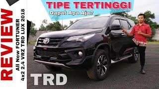 Explorasi New FORTUNER TRD Grade Tertinggi Toyota Indonesia