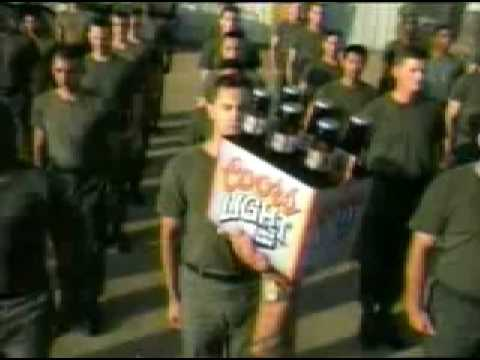 Funny John Wayne Coors Light Beer Commercial Video