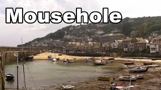 Mousehole in Cornwall England on A Perfect Day