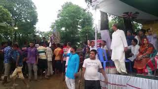 জকিগঞ্জে প্রতিমা বিসর্জন: কুশিয়ারার দুই তীরে মানুষের ঢল