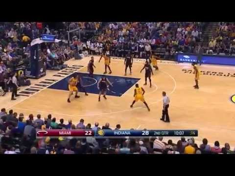 [Hello NBA Basketball] Miami Heat vs Indiana Pacers | April 5, 2015 | NBA Season 2014-15
