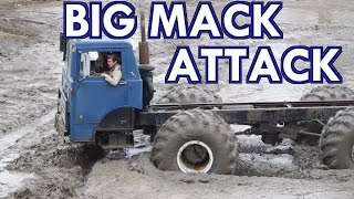 The Beast Of A Mack Truck In The Pits At Wolf Springs Mud Bog