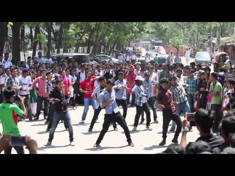 Official Flash Mob of Rajuk Uttara Model College
