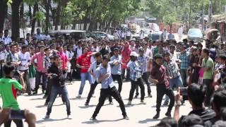 Official Flash Mob of Rajuk Uttara Model College