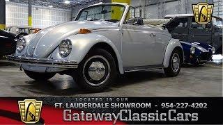 1970 Volkswagen Beetle Convertible Stock# 842-FTL www.gatewayclassiccars.com