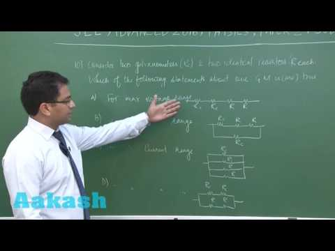 JEE Advanced 2016 Solution Paper-2 Physics [Q. 10] By Aakash