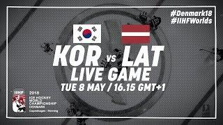 Республика Корея : Латвия