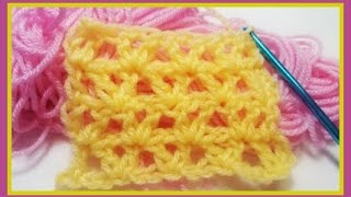 "How to Crochet w/ ""Offset V-Set"""