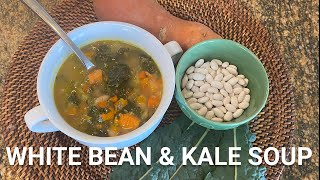White Bean and Kale Soup - Super Yummy & Nutritious