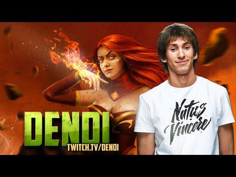 Dota 2 Stream: Na`Vi Dendi - Lina (Gameplay & Commentary)