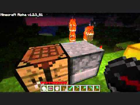 how to make a bed in minecraft alpha