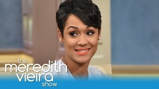 """""""Empire"""" Star Grace Gealey on Concealing Her Cayman Accent On-Set!   The Meredith Vieira Show"""