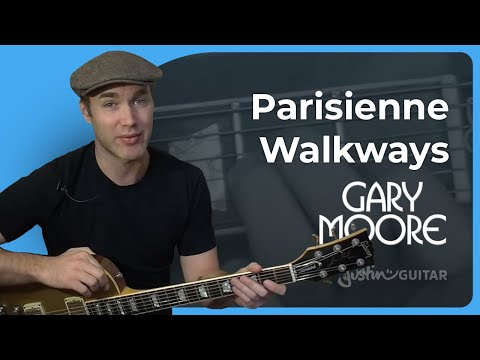 Parisienne Walkways - Gary Moore Tribute #1of2 (Songs Guitar Lesson ST-327) How To Play