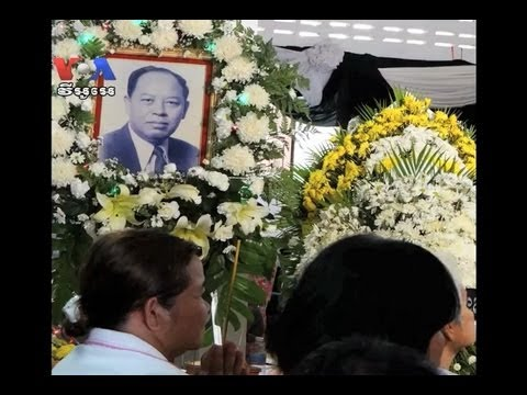 Ieng Sary Body Cremated One Week After His Death