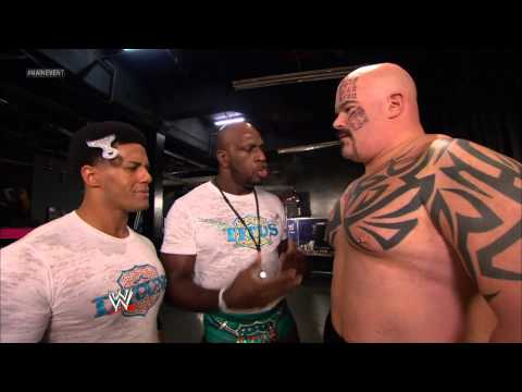 WWE Main Event - The Prime Time Players make fun of Tensai: Jan. 30, 2013