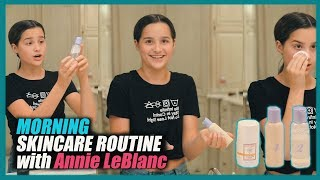 Morning Skincare Routine | Annie LeBlanc