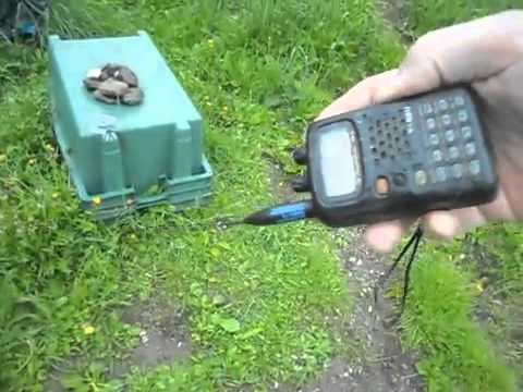 Listening to AO-27 using an HT