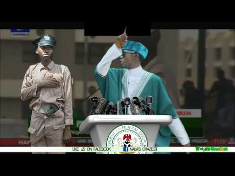 Bola Tinubu Offended by President Buhari's Inauguration Speech as Patience Jonathan Goes Missing