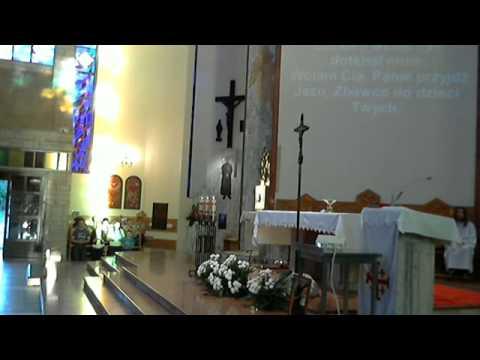 Msza i modlitwa o uzdrowienie 12 06 2013