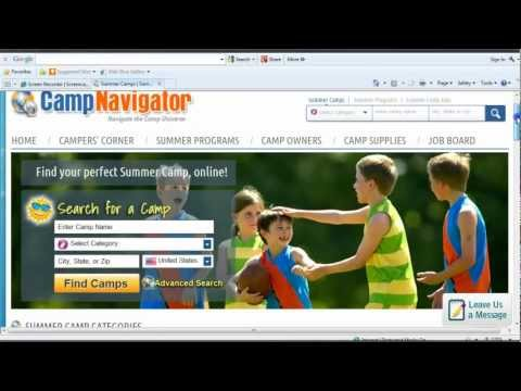 Showcase your Camp on CampNavigator