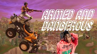 """Fortnite Montage - """"ARMED AND DANGEROUS"""" (Juice WRLD)"""