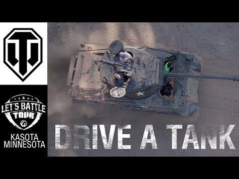 Let's Battle Tour at Drive A Tank - Recap & Community Highlights!