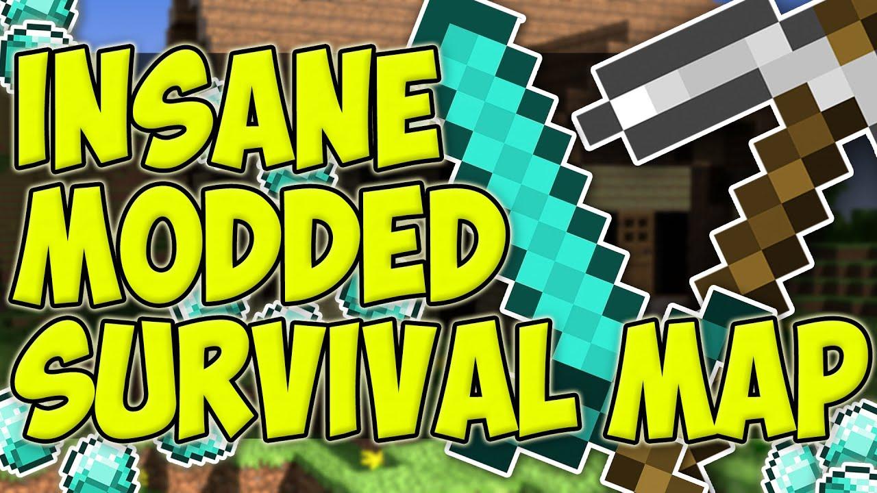 Minecraft Mods Minecraft Xbox Insane Modded Survival