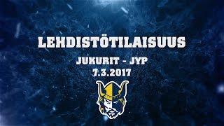 Lehdistötilaisuus Jukurit - JYP 7.3.2017