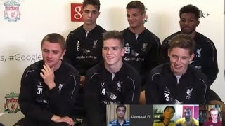 LFC Academy's first ever Hangout