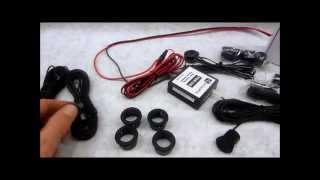 Audiovox PSB100 PSD100 Reverse Parking Aid Kit Review Plus Demo