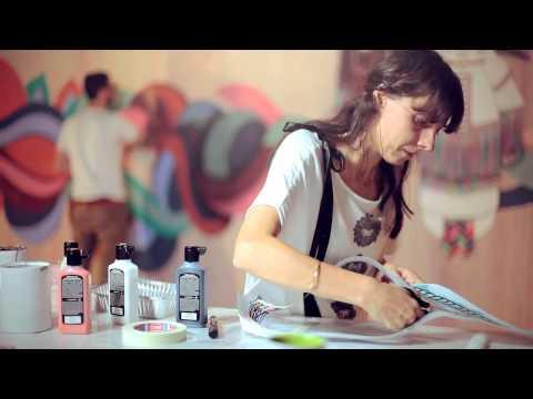 Видео как нарисовать обои