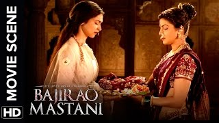 Priyanka Invites Deepika To The Festival | Bajirao Mastani | Movie Scene