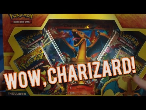 Pokemon Cards - Charizard Ex Box Opening video