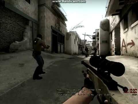 CS GO PRINCE-OF-ALGERIA awp 2shot 2hs wall bang