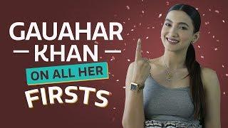 Gauahar Khan on all her firsts | S01E08 | Pinkvilla | Bollywood