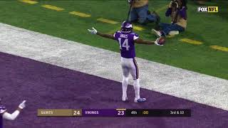 Stefon Diggs Unbelievable Game-Winning Touchdown! | 2018 NFC Divisional Game Highlights