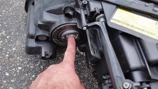 Lexus rx350 moisture in headlight fix pt 1