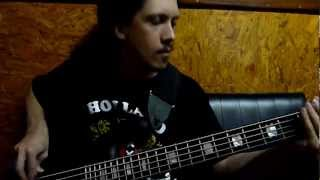 DESECRATED SPHERE - Bass recording sessions