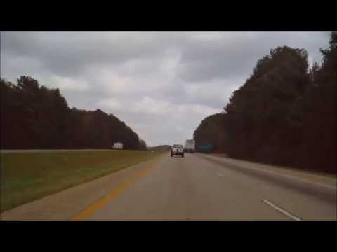 Driving from Arkadelphia, AR to Little Rock, AR on Interstate 30. Filmed on March 15th 2012.
