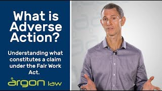 Adverse Action Claims | Legal Advice from a Sunshine Coast Lawyer