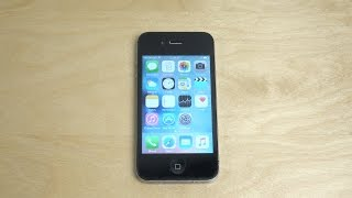 iPhone 4S Official iOS 9 - Review (4K)