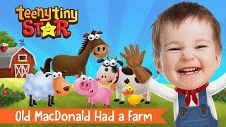 Old MacDonald Had a Farm | Nursery Rhyme | Personalized Videos for Kids | TeenyTinyStar